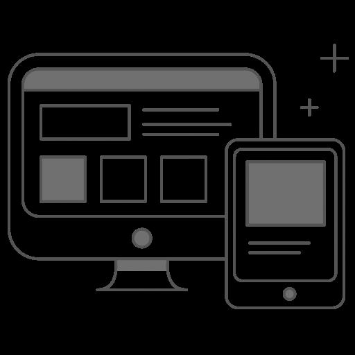 Desktop Cellphone Icon